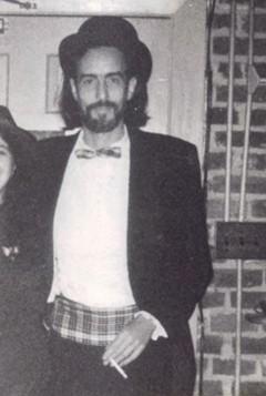 Rik Davis at a Fan party in 1981.