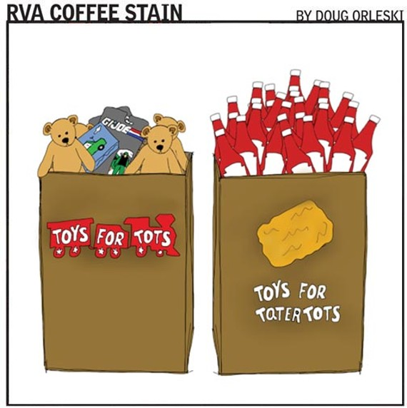 GO TO RVACOFFEESTAIN.COM TO READ MORE OF DOUG'S COMICS.