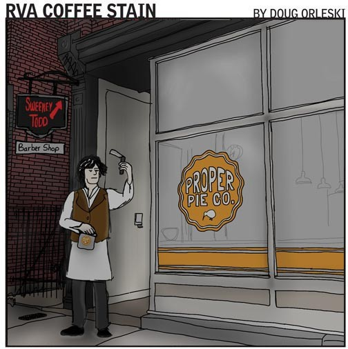 GO TO RVACOFFEESTAIN.COM TO READ MORE OF DOUG ORLESKIS COMICS.