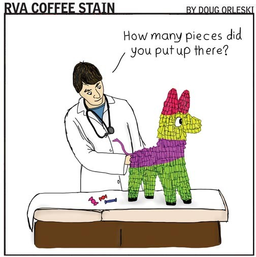 GO TO RVACOFFEESTAIN TO READ MORE OF DOUG ORLESKI'S COMICS.
