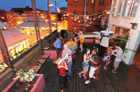 Salsa on deck: The Latin moves come out Thursday nights at Havana '59. - SCOTT ELMQUIST
