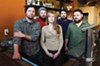 Sara Kerfoot is flanked by Jay Bayer, Adam Hall, Chris Elford and Patrick Moran at Saison, opening soon in Jackson Ward and promising something distinctive in an ever-savvier food city.