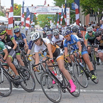 Scenes From the Cycling Collegiate National Championships
