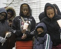 Scenes From the Vigil For Robert Fox
