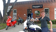 Scoot Richmond Revs Up Business, Welcomes Triumph