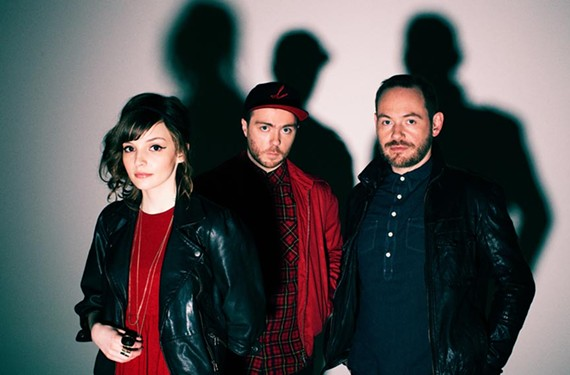 "Scottish synth-pop band Chvrches, pronounced ""Churches,"" came in fifth on the BBC's 2013 list of most promising new music talent."