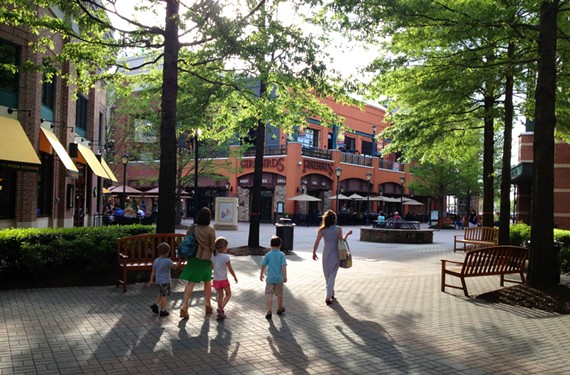 Short Pump Town Center, an open-air mall, opened in Henrico County in 2003. It boasts of some of the county's higher-end shopping, including a Nordstrom. - SCOTT ELMQUIST