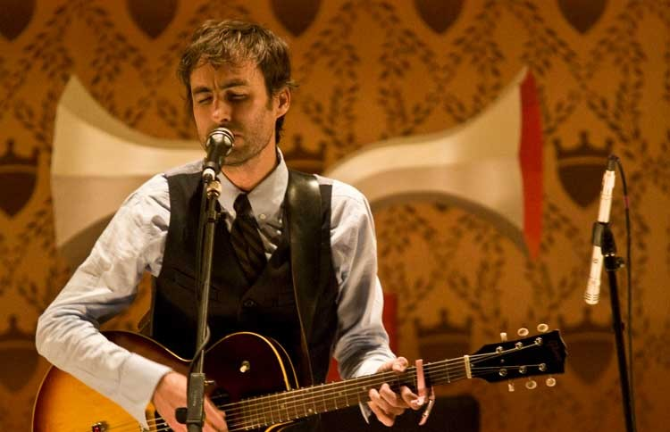 Singer and songwriter Andrew Bird