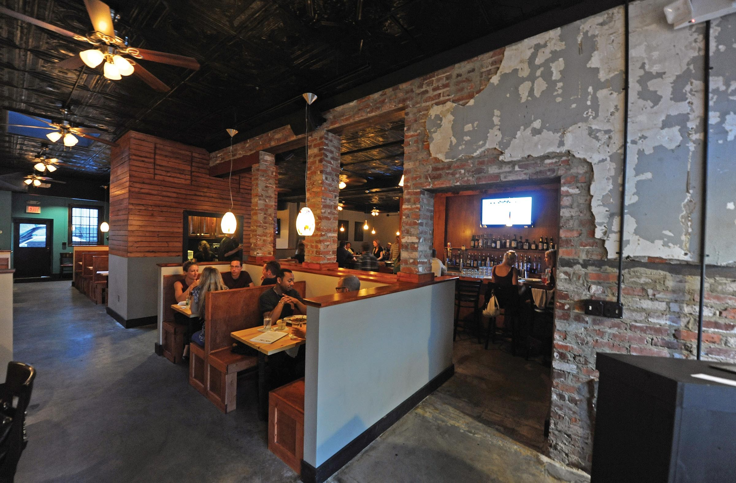 Social52 reveals a new interior design and menu at the former Avalon in the Fan. - SCOTT ELMQUIST
