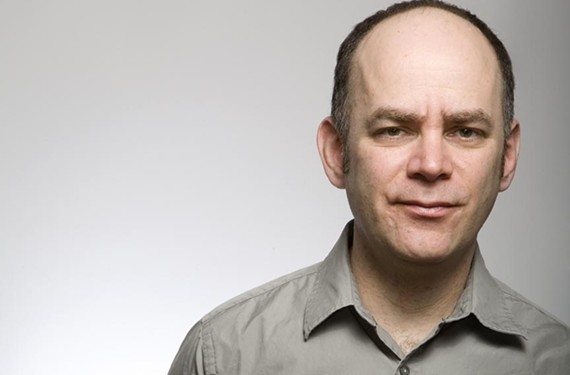 """Sometimes I listen to my voice and I hate it,"" comedian Todd Barry confesses. But fans adore his deadpan delivery, both on stage and on Twitter. - FRANCINE DAVETA"