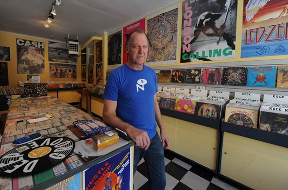 Started in 2007, Record Store Day is now celebrated the third Saturday every April and involves more than 700 independently owned record stores in the United States, including Deep Groove Records with owner Jay Leavitt. - SCOTT ELMQUIST/FILE