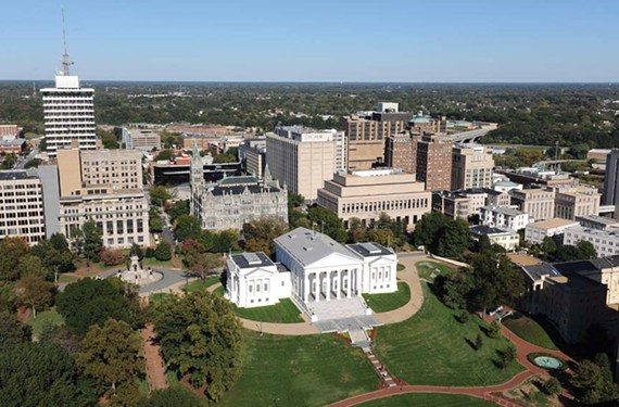 State-owned properties like the Capitol get charged a favorable rate — and don't pay even that.