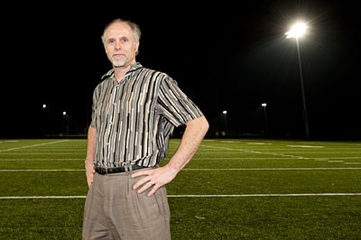 Steve Burton has stepped down as chief executive of SportsQuest as the company reorganizes. - SCOTT ELMQUIST