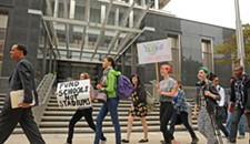 Student School Protest Moves Online
