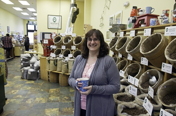 Tammy Rostov began working for her father at Carytown Coffee & Tea Co. when she was 11 years old.