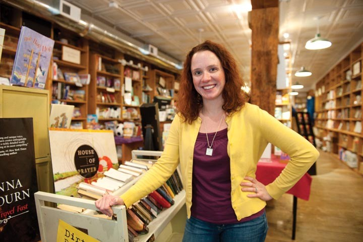 """Technology is certainly changing the [book] industry,"" says Rebecca Joines Schinsky, who keeps up with contemporary literature on the Book Lady's Blog. - SCOTT ELMQUIST"