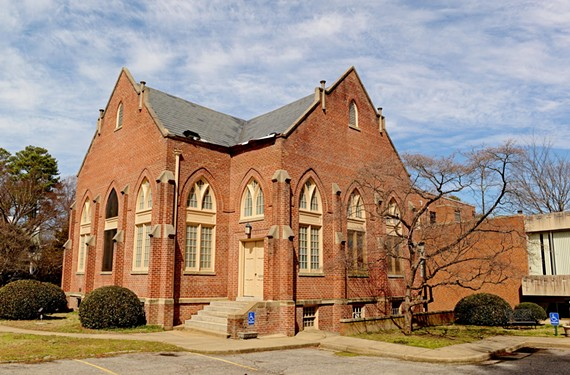 The 1914 gothic revival sanctuary at 6112 Three Chopt Road needs extensive roof repairs. - SCOTT ELMQUIST