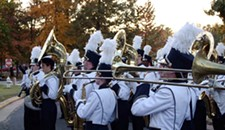 The 2014 Showcase of High School Marching Bands at Midlothian High School