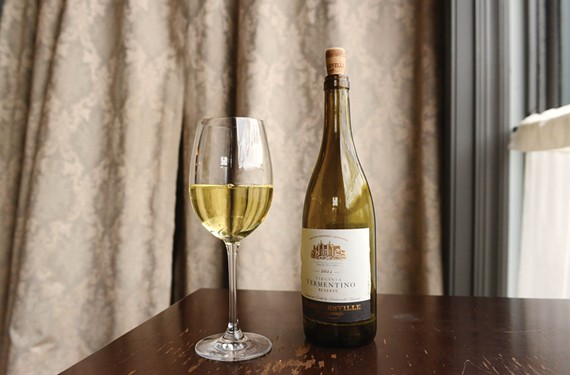 The Barboursville Vineyards 2011 Virginia Vermentino Reserve is on the all-Virginia wine list at the Roosevelt in Church Hill. - SCOTT ELMQUIST