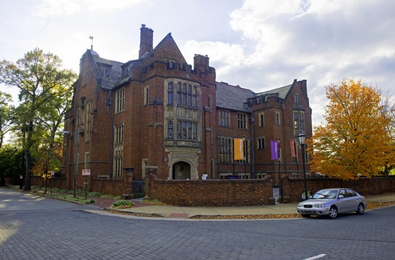 The Branch House, home of the Virginia Center for Architecture at 2501 Monument Ave., was designed in 1919 by prominent architect John Russell Pope. - SCOTT ELMQUIST