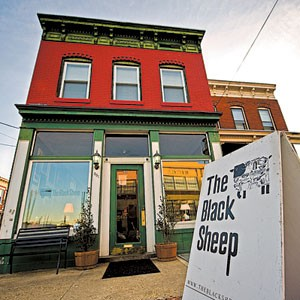 The Carver neighborhood's best food landmark is The Black Sheep, where personality and a full-service kitchen earn credentials and affection. Photo by Ash Daniel.