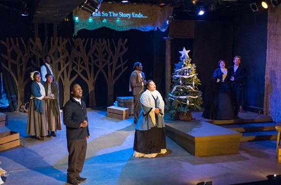 "The cast of the ambitious ""A Civil War Christmas"" at the Firehouse Theatre brings to life nearly a dozen stories with flashes of warmth."