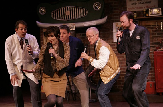 """The cast of Virginia Rep's """"A Lug Nuts Christmas"""" sings well enough, and the musical has some laughs, but our critic found the overall production lacking. - JAY PAUL"""