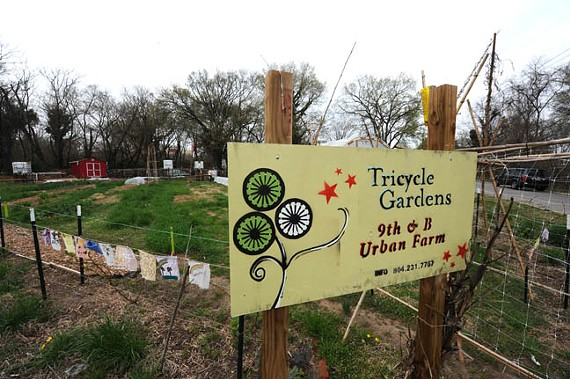 The city's plan for more community gardens, such as this one at Ninth and Bainbridge streets, was rejected by residents. Now, the city's back for round two. - SCOTT ELMQUIST