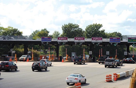 The Downtown Expressway, pictured here, and Powhite Parkway are big moneymakers: More than 55 million trips through the tolls in fiscal 2010, or about $34.5 million. - SCOTT ELMQUIST