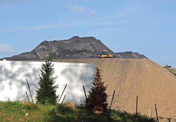 The East End Recovery Center wants permission to use coal ash as filler at its landfill in Henrico County. But just how dangerous is coal ash? - SCOTT ELMQUIST/FILE