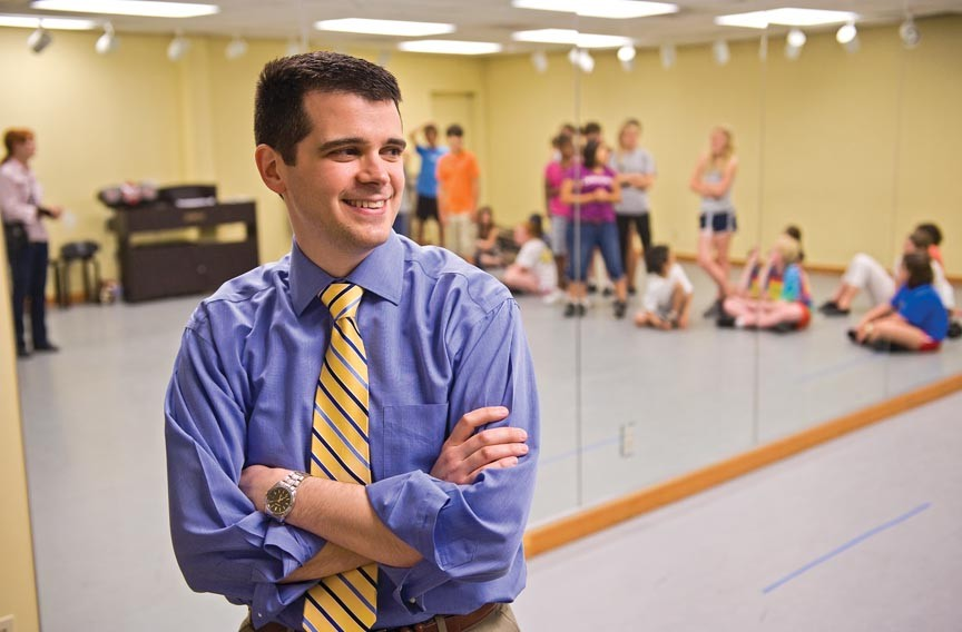 The executive director of the School of the Performing Arts in the Richmond Community, Ryan Ripperton, oversees a class of budding young talent. The school celebrates its 30th anniversary with a retrospective showcase and a free tour of its facilities. - ASH DANIEL