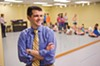The executive director of the School of the Performing Arts in the Richmond Community, Ryan Ripperton, oversees a class of budding young talent. The school celebrates its 30th anniversary with a retrospective showcase and a free tour of its facilities.