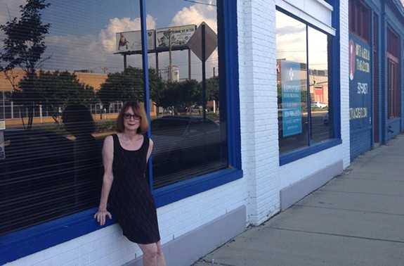 The exodus to Scott's Addition continues; Geraldine Duskin and her Ghostprint Gallery will be relocating there by the end of the month.