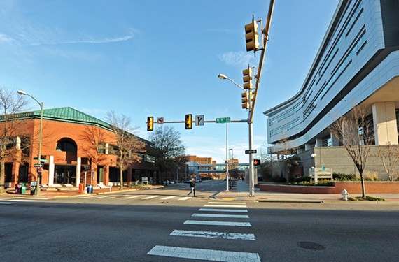 The expansion of the Virginia BioTechnology Research Park could change the way a certain sterile section of Richmond's downtown looks and feels. - SCOTT ELMQUIST