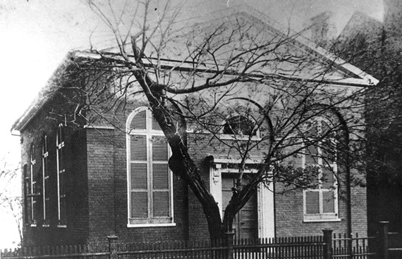 The former Beth Shalome was founded in the Bottom and moved in 1822 to this building near Capitol Square. - BETH AHABAH MUSEUM AND ARCHIVES