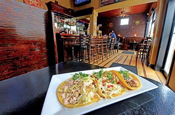 The gauntlet samples several cooking styles from Boka Tako's latest venture on Robinson Street.