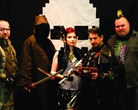 The League of Space Pirates at Balliceaux