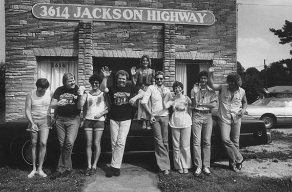 "The legendary Swampers backing band plays a big role in the new documentary ""Muscle Shoals"" from director Greg ""Freddy"" Camalier. - MAGNOLIA PICTURES"
