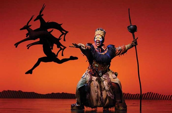 """""""The Lion King"""" is expected to be the largest theater production to date to play the Landmark Theater. - JOAN MARCUS"""