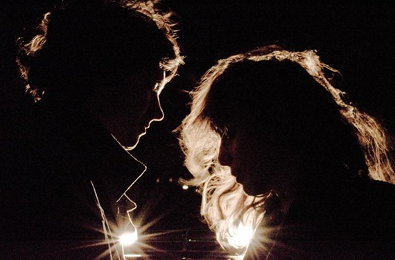 """The music may be dreamy, but """"live, it's pretty loud!"""" says Victoria Legrand. She and Alex Scally are Beach House, which comes to the National on Sept. 13. - LIZ FLYNTZ"""