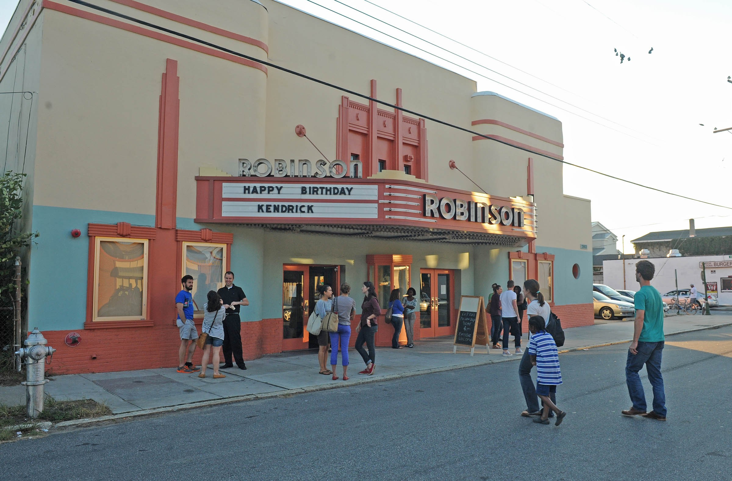The nearly 80-year-old Robinson Theater was vacant for more than 20 years before being restored in 2009. - SCOTT ELMQUIST