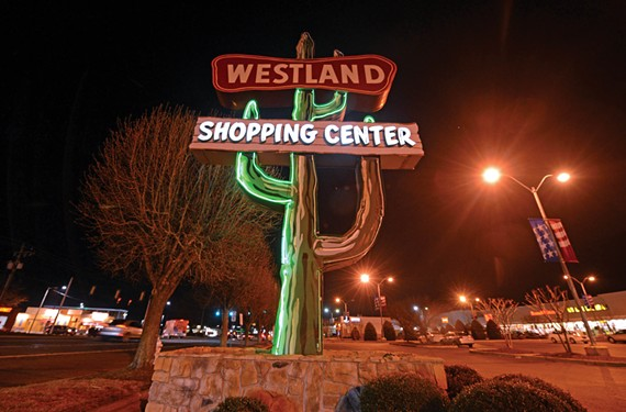 The neon cactus at Westland Shopping Center in Henrico — which looks like something out of a Coen Brothers movie — is a historic landmark.