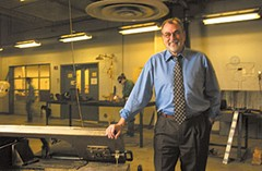 """The new dean of VCU's School of the Arts is a familiar face to Richmond. """"We're at an incredible time in our history when creative thinking is so important,"""" says Joe Siepel, who helped to make the school's sculpture department among the best in the country. Scott Elmquist/file."""