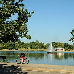 The parks master plan recommends corporate sponsorships, such as the recent renovation of the concession stand and pedal-boat operation at Fountain Lake in Byrd Park, which features food from Sally Bell's Kitchen in spring, summer and fall.