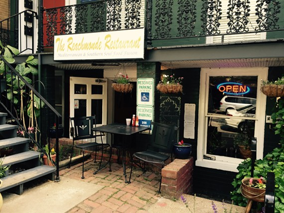 The Reachmonde opened in Jackson Ward with Mediterranean and soul-food fusion fare.
