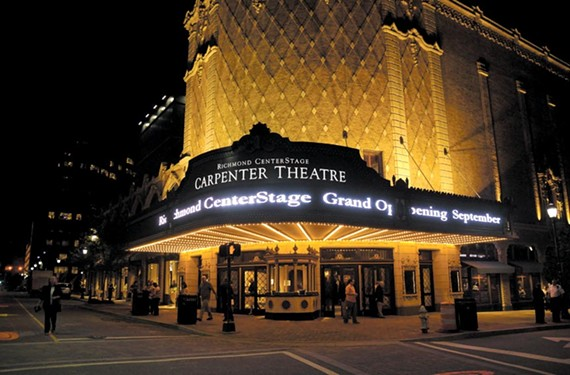 The renovated Carpenter Theatre opened downtown in 2009.