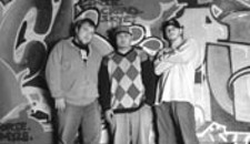 The Richmatic Crew: Sean Kramer (DJ Krames), 23, Billy Nguyen (DJ Chinky Eye), 26 , Jeremy Zavik (DJ JAZ), 27