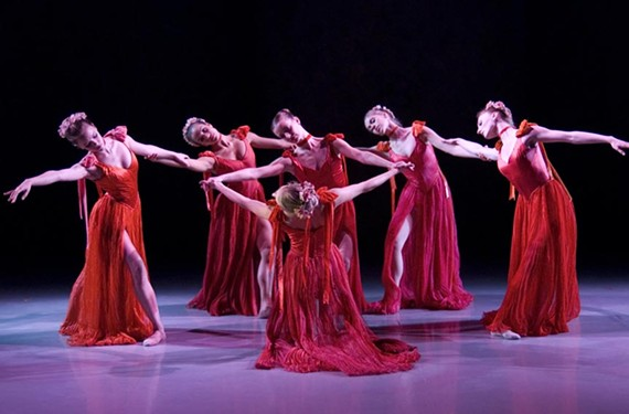 """The Richmond Ballet dances the Southern gothic piece """"A Rose for Miss Emily"""" as part of its upcoming Studio 2 performance. - RICHMOND BALLET"""