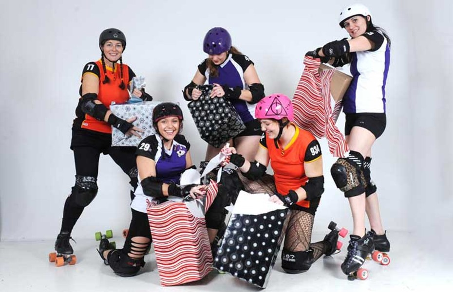 The River City Rollergirls are making their lists and checking them twice. Unless you like pain, you really don't want to be on those lists. - SCOTT ELMQUIST