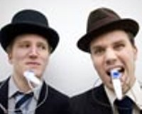 The Two Man Gentlemen Band at Cous Cous